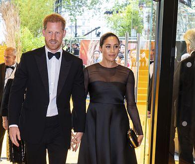 """Harry i Meghan w drodze na europejską premierę """"Króla Lwa"""""""