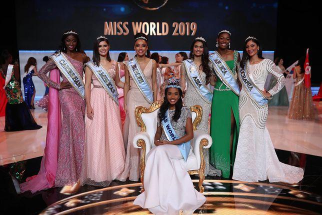 Toni-Ann Singh (w środku) została Miss World 2019