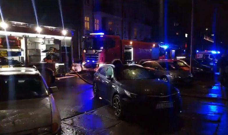 Pożar kamienicy w Szczecinie. Dwie osoby nie żyją