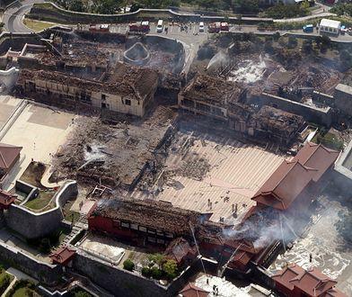 Japonia. Spłonął zamek Shuri wpisany na listę światowego dziedzictwa UNESCO