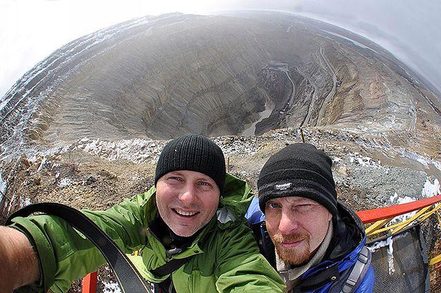 Gigantyczna dziura pełna diamentów - zobacz zdjęcia
