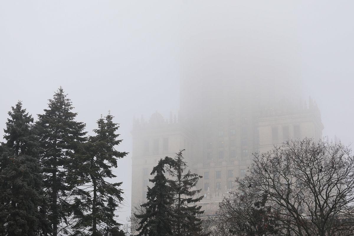 Warszawa. Smog w stolicy. Jakość powietrza w piątek 24 stycznia 2020 r.