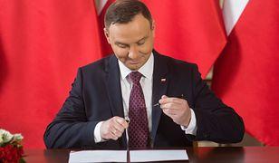 Polacy dobrze oceniają pracę Andrzeja Dudy