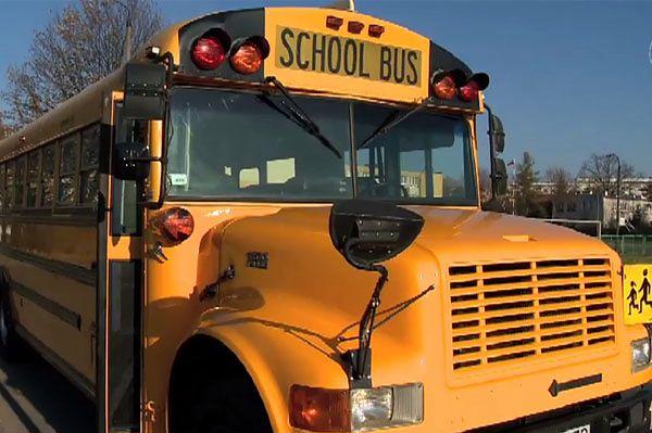 Autobus z Ameryki w Białymstoku. Uczniowie zachwyceni