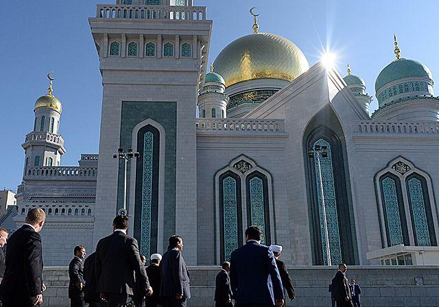 Putin otworzył w Moskwie ogromny meczet - zdjęcia