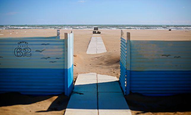 Do gwałtu doszło na plaży w Rimini