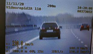 Łódź. Pijany kierowca pędził autostradą