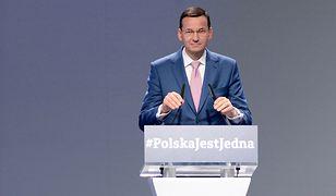 Mateusz Morawiecki na Kongresie PiS w Pszysusze.