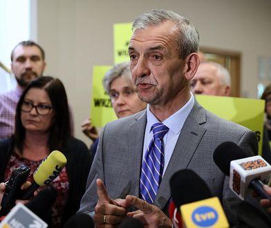 Sławomir Broniarz stwierdził, że wielu nauczycieli jest rozczarowanych podwyżkami