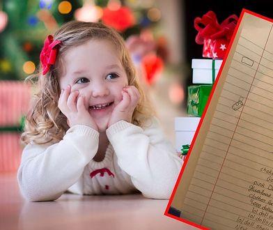10-latka napisała viralowy list do św. Mikołaja