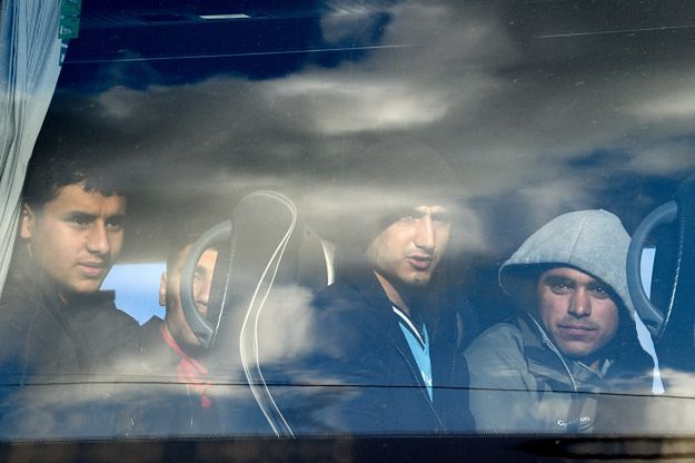 """Francuskie władze rozpoczęły ewakuację nieletnich mieszkańców """"dżungli"""""""