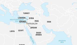 Izrael uderzył w Syrię.