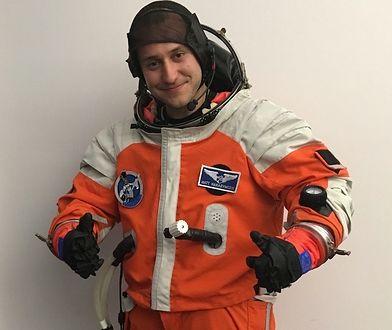 Matt Harasymczuk jest weteranem misji w habitacie Lunares
