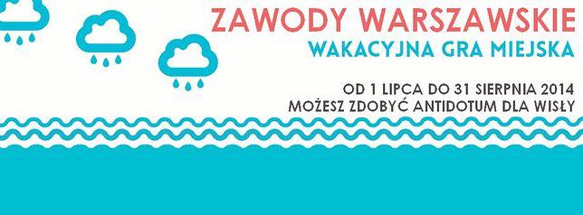 zaWody warszawskie - wakacyjna gra miejska