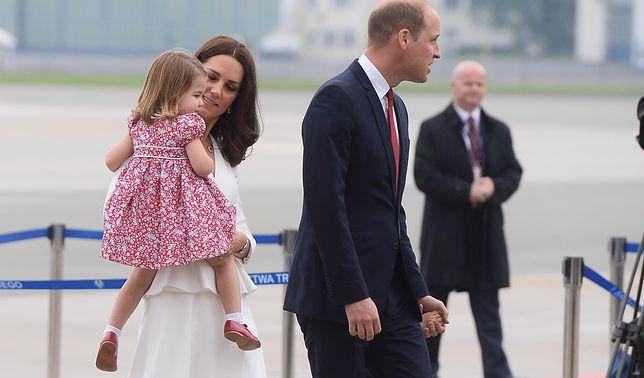 Kate i William już w Polsce! Mały George był nie w humorze