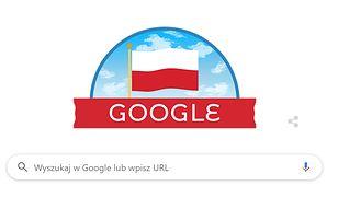 Google Doodle, Święto Niepodległości 11 listopada.