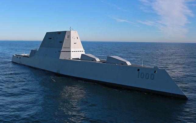 USS Zumwalt zmieni swoje przeznaczenie. Okręt otrzyma działo laserowe
