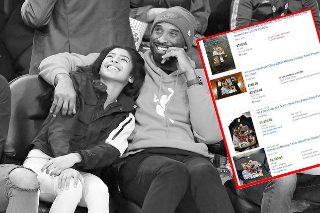 Kobego Bryanta i jego córkę pożegnały tłumy zgromadzone w Staples Center