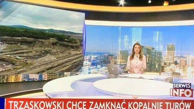 TVP Info powiązało Rafała Trzaskowskiego z kryzysem wokół kopalni Turów