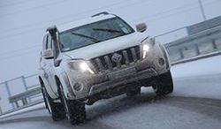 Toyota Land Cruiser Arctic Trucks: islandzki patent
