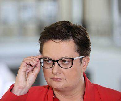 Funkcjonariusz Straży Marszałkowskiej, który groził Katarzynie Lubnauer usłyszał dwa zarzuty