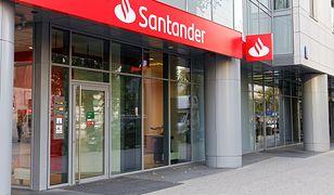 Santander nie wskazuje, ile potrwa awaria.
