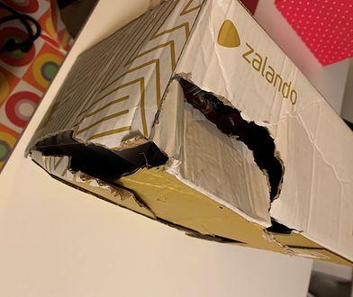 Aż trudno uwierzyć, że kurier mógł dostarczyć paczkę w takim stanie do klienta