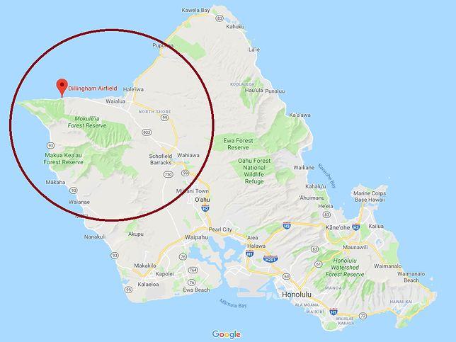 Hawaje. 9 osób zginęło w wypadku w okolicach lotniska Dillingham