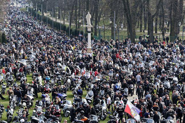 Zlot motocyklistów w Częstochowie