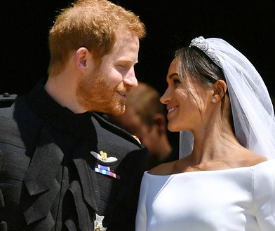 Meghan i Harry świętują pierwszą rocznicę ślubu