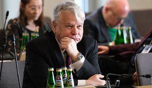 Koronawirus w Polsce. Senator KO Bogdan Borusewicz (zdj. arch.)