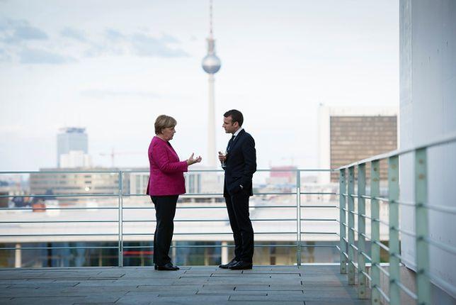 Macron przyjechał do stolicy Niemiec dzień po objęciu urzędu. Mocne wystąpienie prezydenta Francji