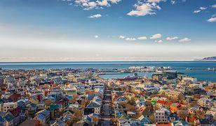 Reykjavik leży na półwyspie w przepięknej lokalizacji