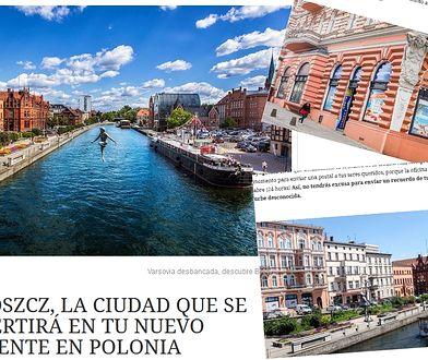"""""""Bydgoszcz jest miastem, które staje się nową ikoną Polski"""" - możemy przeczytać w hiszpańskiej edycji miesięcznika """"Condé Nast Traveler"""""""