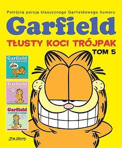 """""""Garfield: Tłusty koci trójpak 5"""": Łakomstwo to pierwszy krok do szczęścia [RECENZJA]"""