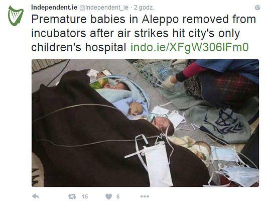 Aleppo zbombardowane, brakuje worków do przenoszenia zwłok