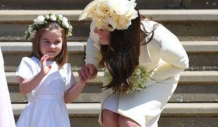 Księżna Kate pilnowała córki