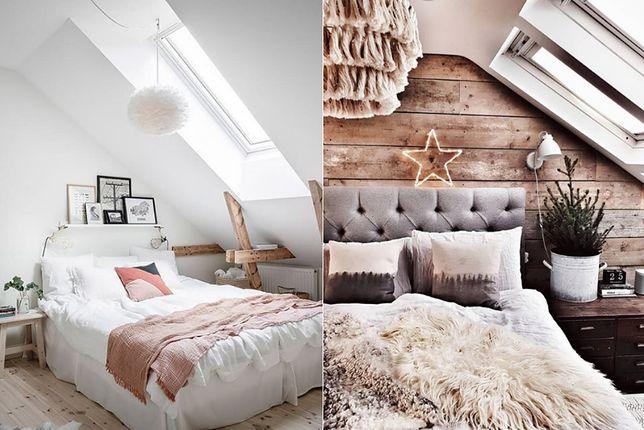 Sypialnia w stylu skandynawskim na poddaszu. Jak ją urządzić?