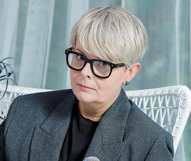 Karolina Korwin-Piotrowska o szczepieniu i pielęgniarka. Była na Stadionie Narodowym