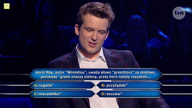 """Greenhorn to słowo złośliwe ponieważ... Sprawdzamy odpowiedź na pytanie z teleturnieju """"Milionerzy""""."""