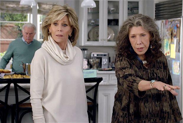 """Kadr z serialu """"Grace i Frankie"""""""
