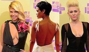 Odważne kreacje gwiazd na gali MTV VMA 2012!