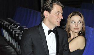Marcin Kwaśny z żoną Dianą Kołakowską. Takie chwile to już przeszłość