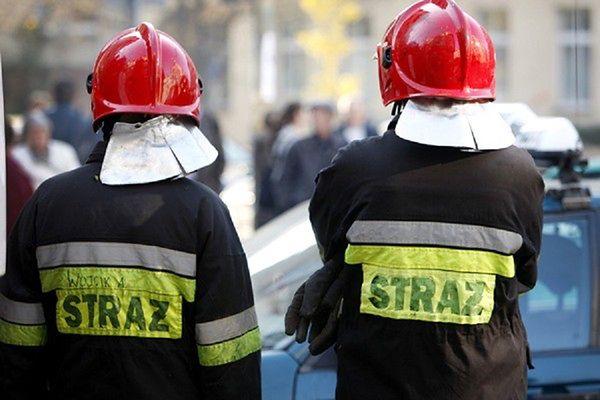 Zawaliła się ściana budynku na warszawskiej Pradze