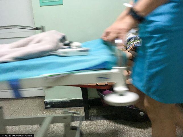 Chłopiec ranny w wyniku wybuchu petardy trafił do szpitala