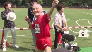 105-latek pobił rekord Guinnessa w biegu na 100 metrów. Na mecie cieszył się jak Usain Bolt