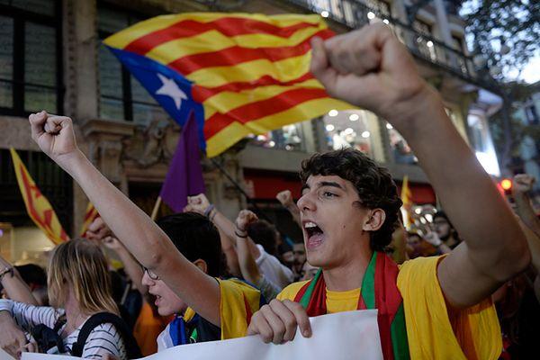 Parlament Katalonii potwierdza, że dąży do odłączenia od Hiszpanii