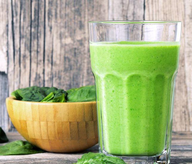 Koktajl z gruszki, roszponki i zielonej herbaty