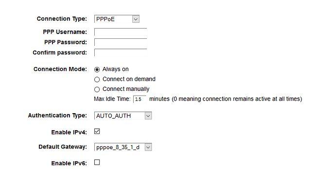 Słynna i jakże ważna zakładka konfiguracji Interfejsu sieciowego