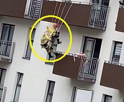 Dramat w Krakowie. Nagranie ze strażakami niesie się w sieci